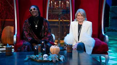 Happy Halloween! Snoop Dogg and Martha Stewart reunite to bring tasty treats with new food competition
