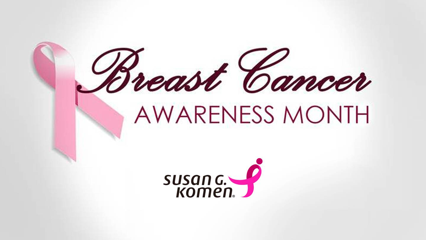 This October, let's imagine a world without breast cancer