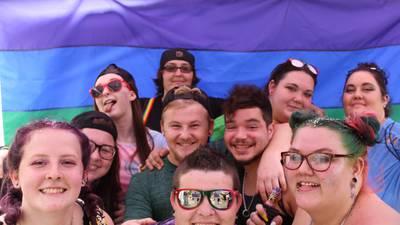 B98.5 at the Pride Festival