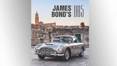 Now you can own James Bond's DB5 -- the book, that is