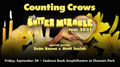 Listen all weekend for your chance at Counting Crows tickets!