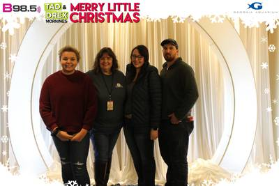 Photo Booth: Tad & Drex's Merry Little Christmas 2019