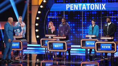 Pentatonix is taking on Wilson Phillips on 'Celebrity Family Feud' this weekend