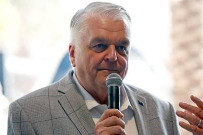 Nevada Gov. Steve Sisolak cited in 2-car crash