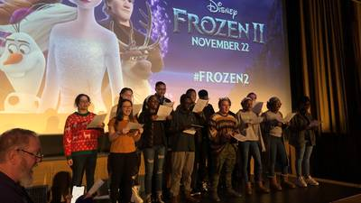 B98.5 at Frozen 2 Advance Screening